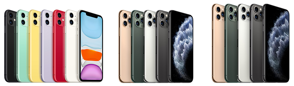 iPhone 11, 11 Pro y 11 Pro Max
