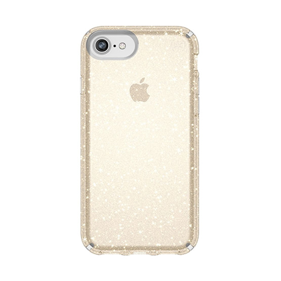 Speck Presidio Clear Glitter iPhone 8/7/6S/6 - Gold