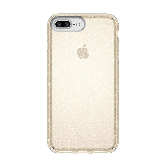 Speck Presidio Clear Glitter iPhone 8Plus/7Plus - Gold