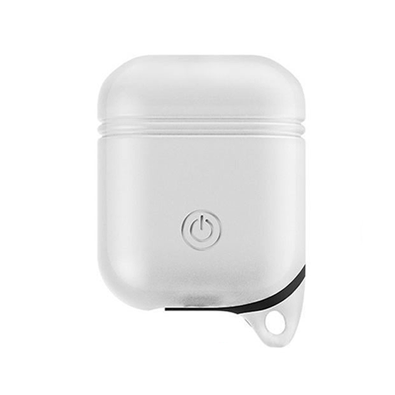 Cico Airpods Shockproof Silicone Case - White