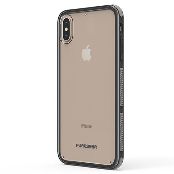 PureGear DualTek Clear iPhone XS Max - Clear/Black