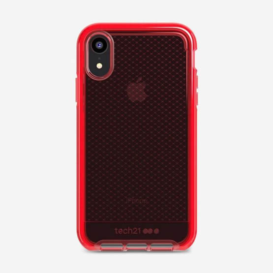 Tech21 Evo Check iPhone XR - Rouge