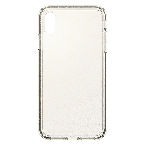 Speck Presidio Clear Glitter iPhone XS Max - Gold