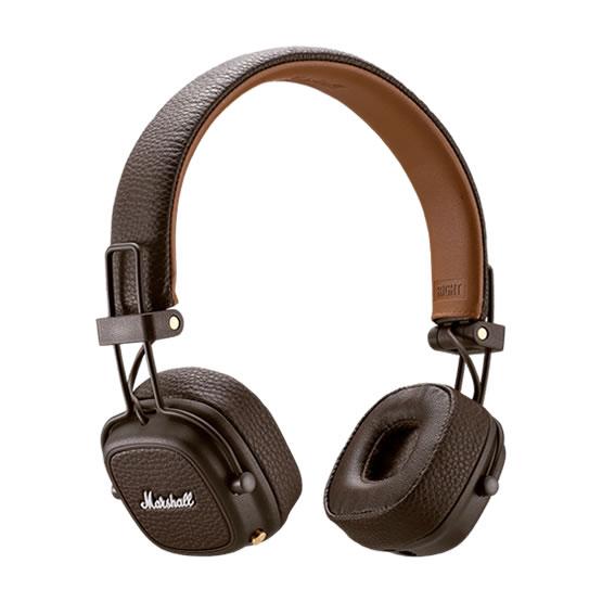 Marshall Headphones Major III Bluetooth - Brown