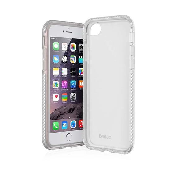 Evutec Selenium iPhone 8/7 - Clear/Silver