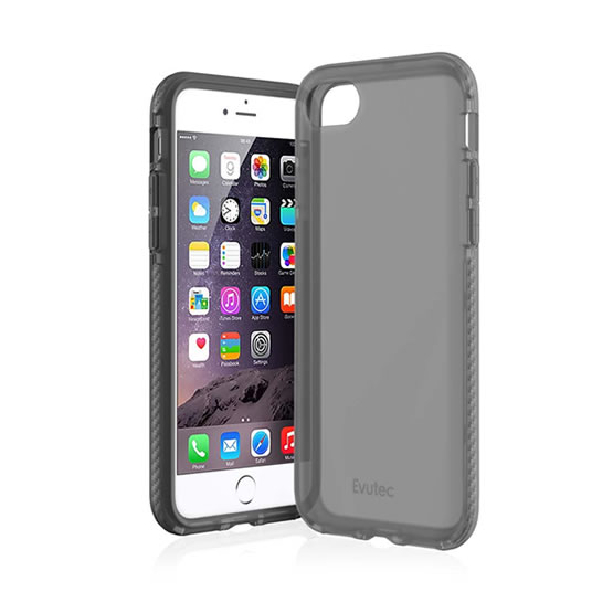 Evutec Selenium iPhone 8/7 - Smoke/Silver