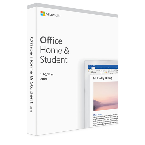 Office Mac 2019 Home & Student ESD - Version Digital