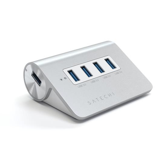 Satechi 4-Port Hub USB 3.0 - Aluminum
