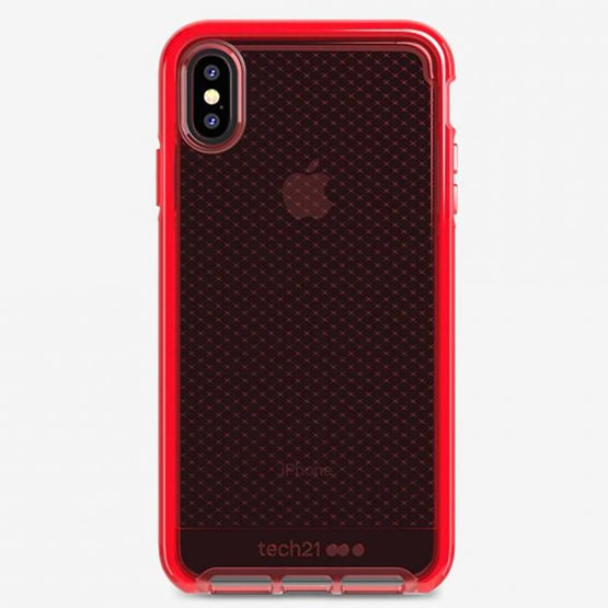 Tech21 Evo Check iPhone XS Max - Rouge