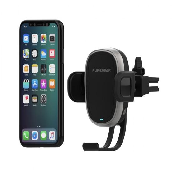 Puregear Autogrip QI Vent Mount Wireless Charger