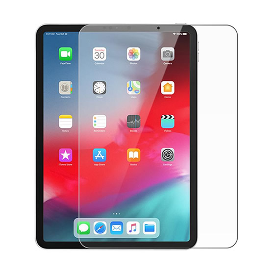 PureGear HD Clarity Tempered Glass iPad Pro 11 2018 w/ Tray