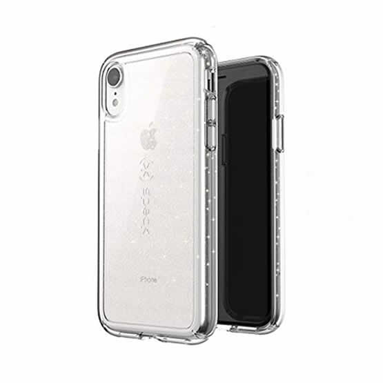 Speck Gemshell Glitter iPhone XR - Clear