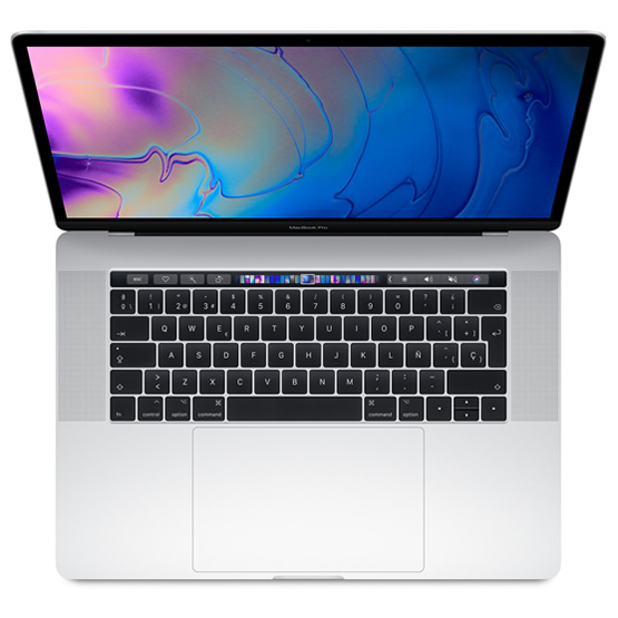 MacBook Pro 15 Touch Bar i7 2.6 GHz 256 GB - Silver