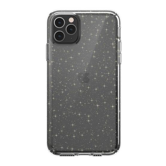 Speck Presidio Clear Glitter iPhone 11 Pro Max - Clear