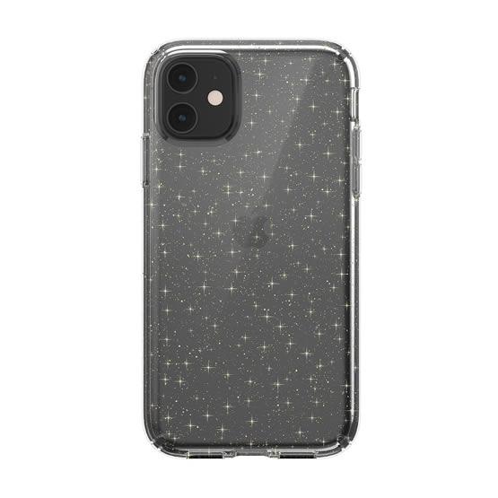 Speck Presidio Clear Glitter iPhone 11 - Clear