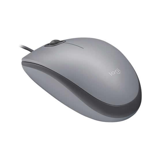 Logitech Mouse M110 Silent - Gray