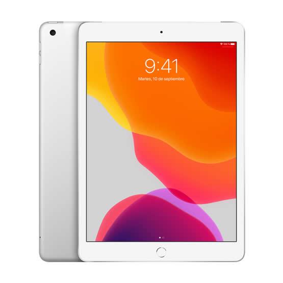 iPad 10.2 Wi-Fi + 4G 128 GB - Silver (2019)