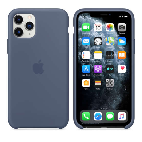 Apple Silicone Case iPhone 11 Pro - Alaskan Blue