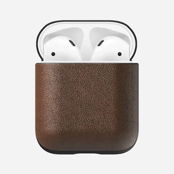 Nomad Airpods Case - Brown