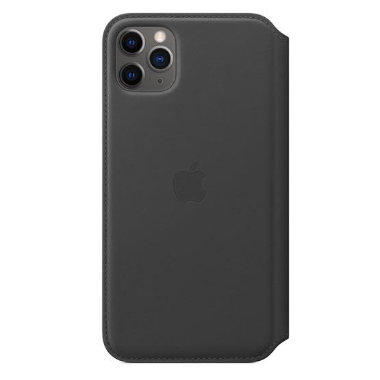 Apple Leather Folio iPhone 11 Pro Max - Black