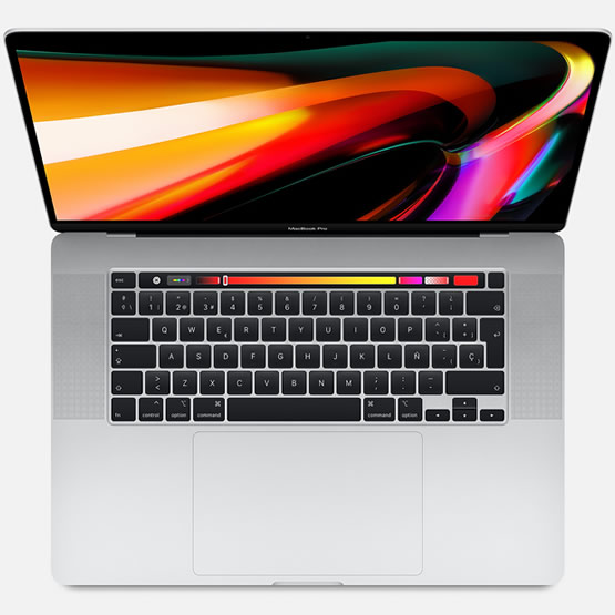 MacBook Pro 16 Touch Bar i7 2.6 GHz 512 GB - Silver