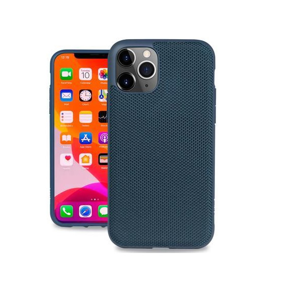 Evutec Ballistic Nylon Case iPhone 11 Pro + Vent Mount - Blue