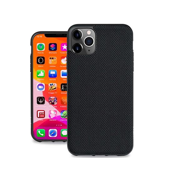 Evutec Ballistic Nylon Case iPhone 11 Pro Max + Vent Mount - Black