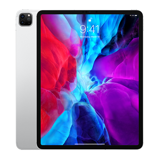 iPad Pro 12.9 WiFi 256GB - Silver (2020)