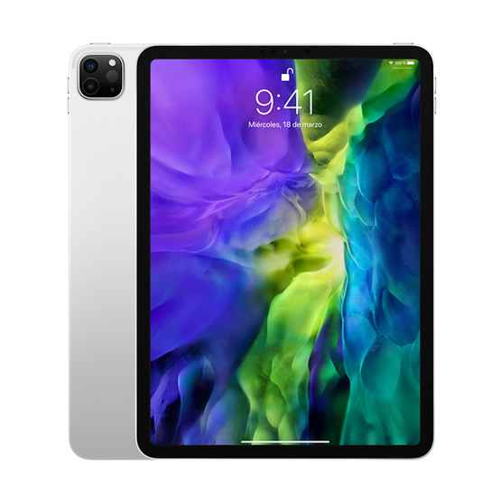 iPad Pro 11 WiFi + 4G 512GB - Silver (2020)
