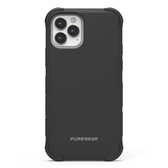 PureGear DualTek Clear iPhone 12 / iPhone 12 Pro - Black