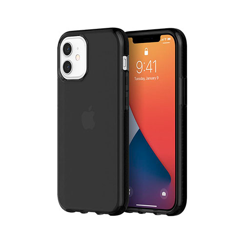 Griffin Survivor Clear iPhone 12 Mini  - Black