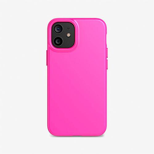 Tech21 Evo Slim iPhone 12 Mini - Fuchsia