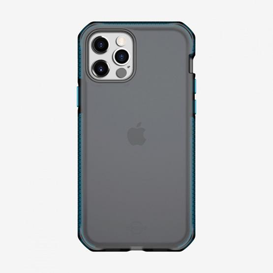 ItSkins Supreme Frost iPhone 12 Pro Max - Centurion Blue and Black