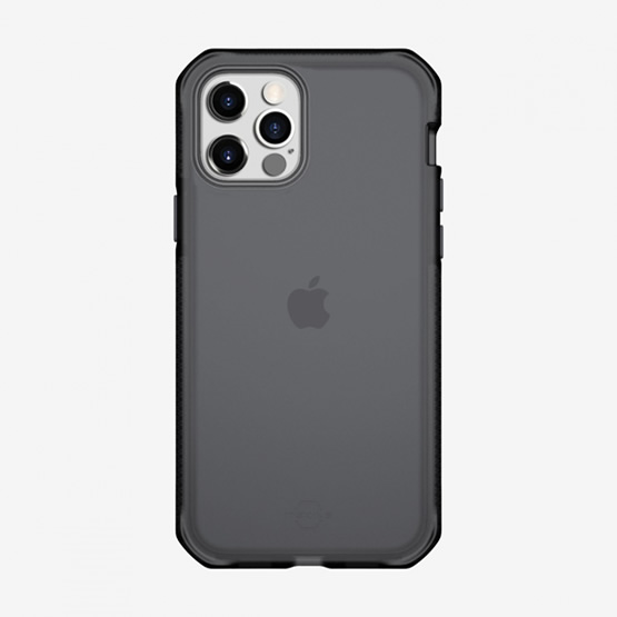 ItSkins Supreme Frost iPhone 12 Pro Max - Gray and Black