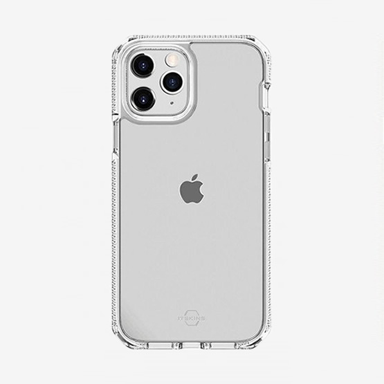 ItSkins Supreme Clear iPhone 12 / iPhone 12 Pro - White and Transparent