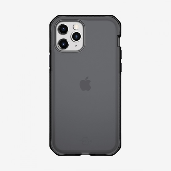 ItSkins Supreme Frost iPhone 12 / iPhone 12 Pro - Gray and Black