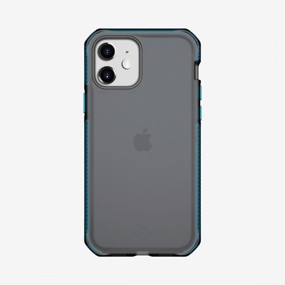 ItSkins Supreme Frost iPhone 12 Mini - Centurion Blue and Black