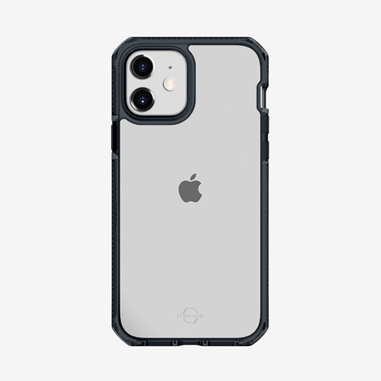 ItSkins Supreme Clear iPhone 12 Mini - Smoke and Transparent