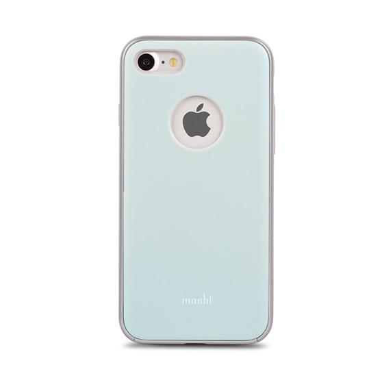 Moshi iGlaze Case iPhone 8/7 - Powder Blue