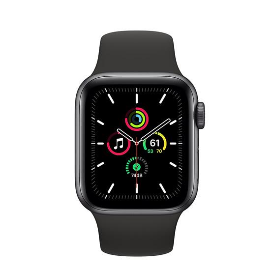 Apple Watch SE GPS - 40mm - Space Gray/Black Sport Band
