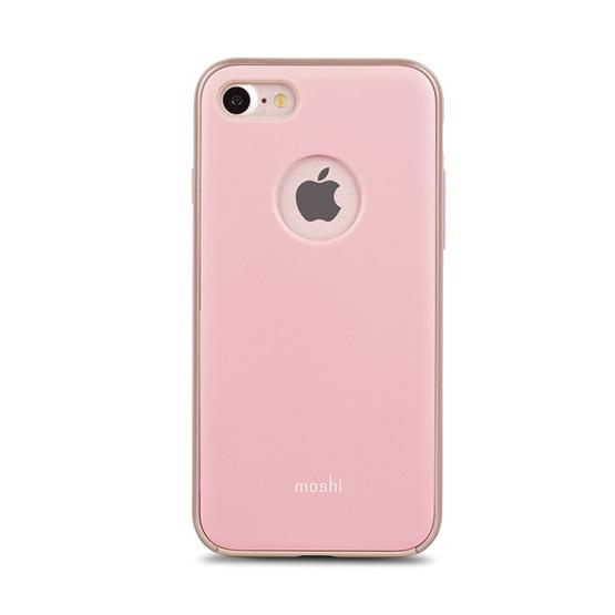 Moshi iGlaze Case iPhone 8/7 - Blush Pink