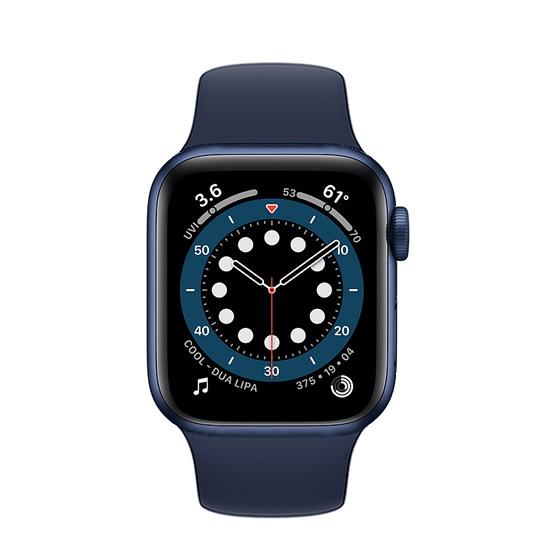 Apple Watch Series 6 GPS - 40mm - Blue/Deep Navy Sport Band