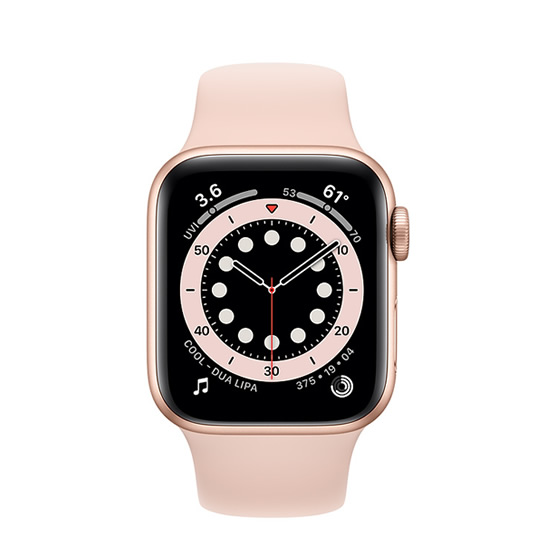 Apple Watch Series 6 GPS - 40mm - Gold/Pink Sand Sport Band