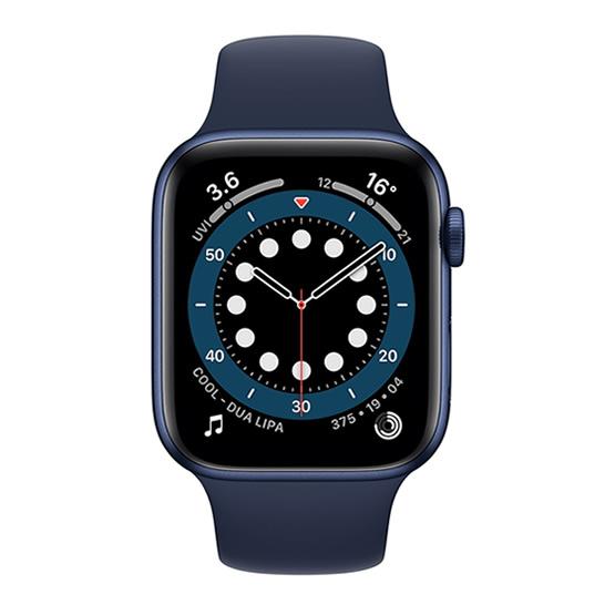 Apple Watch Series 6 GPS - 44mm - Blue/Deep Navy Sport Band