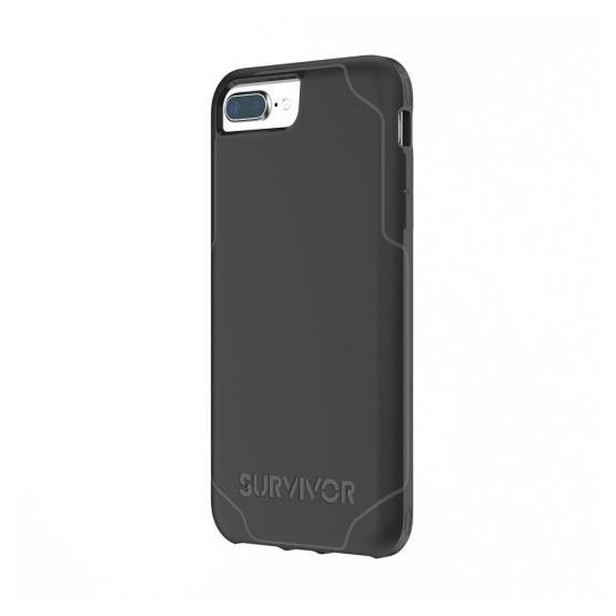 Griffin Survivor Journey Case iPhone 7 - Black/Dark Grey