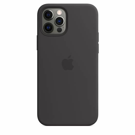 Apple Silicone Case iPhone 12/12 Pro - Black
