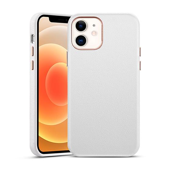 ESR Metro Premium Leather Case iPhone 12 Mini - White
