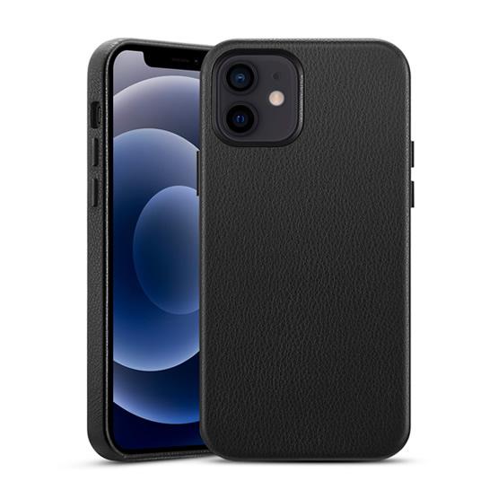 ESR Metro Premium Leather Case iPhone 12 Mini - Black