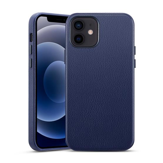 ESR Metro Premium Leather Case iPhone 12 Mini - Blue