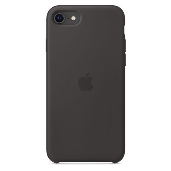 Apple Silicone Case iPhone SE - Black